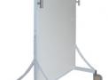 Biombo 0,80 x 1,80 m c/ 2,0 mm Pb Visor 15 x 20 cm