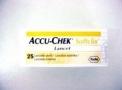 LANCETA ACCU-CHEK SOFTCLIX II C/25