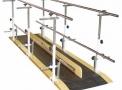 Barra Paralela Dupla 3m - Aço Pintado