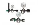 Válvula red. de pressão p/cilindro c/flux. de o2