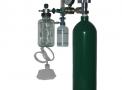 Sistema p/aspir. e oxigenação c/ cilindro o2