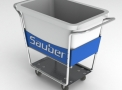 Carro para transporte de roupas - SAUBER