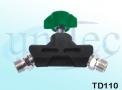 Tomada Dupla para Oxigênio - TD110