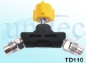 Tomada Dupla para Ar Comprimido - TD120