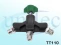 Tomada Tripla para Oxigênio - TT110