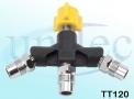 Tomada Tripla para Ar Comprimido - TT120