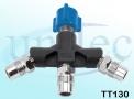 Tomada Tripla para Oxido Nitroso - TT130