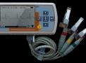 Monitor de ecg portátil para uso veterinário