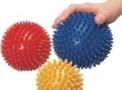 Bola Cravo 10cm - Bola de Massagem 10cm Utilizada em Fisioterapia (Cód. 210)