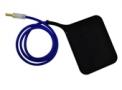 Eletrodo Vulcanizado para Ondas Curtas 1 placa com cabo - Ibramed