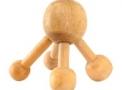 Massageador Manual de Madeira - Polvo - Para as costas, Região Lombar, Tórax e Couro Cabeludo - Anti-Stress