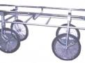 Carro para transporte de urna funerária
