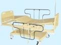 Cama Fawler Elétrica com Cabeceira e Peseira Injetada Grades Inox MA-484