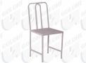 Cadeira de Ferro Esmaltado Assento