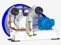Compressor Medicinal Montado sobre Base EL-2050-B