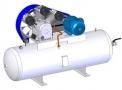 Compressor Medicinal Montado sobre Reservatório EL-2075-R