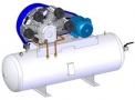 Compressor Medicinal Montado sobre Reservatório EL-2150-R