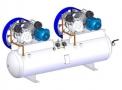 Compressor Medicinal Montado sobre Reservatório EL-2030-RD