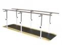 Barra Paralela Simples - 2m Ref. 1075   - Aço pintado