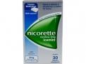 Nicorette 2mg Goma de Mascar com 30 Tabletes Sabor Icemint