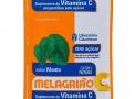 Melagrião Suplemento de Vitamina C Pastilhas Zero Açúcar Sabor Menta com 5 Unidades