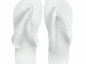 Sandálias Havaianas Top Branco Tamanho 37/38 com 1 Par