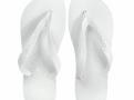 Sandálias Havaianas Top Branco Tamanho 35/36 com 1 Par