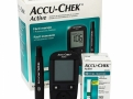 Accu-Chek Active Kit Monitor de Glicemia com 1 Monitor + 10 Tiras Teste + 1 Lancetador + 10 Lancetas