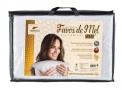 travesseiro fibrasca favos de mel lavável 50x70