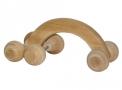 massageador de madeira new art carrinho