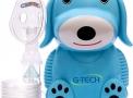 inalador nebulizador g-tech nebdog azul bivolt