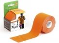 fita kinésio bandagem adesiva tmax - laranja