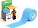 fita bandagem funcional adesiva azul (5mx5cm) c/ 1 unidade - bioland