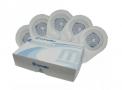 active life convatec bolsa de colostomia / ileostomia drenável transparente recortável 19-64mm (caixa com 10 unidades)