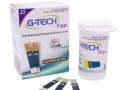 tiras para teste de glicose - free 1 - pote com 25 unidades - g-tech