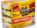 Toalha Umedecida Piquitucho Premium Leve 4 Pague 3 com 4 Pacotes de 60 Unidades cada