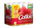 Papel Higiênico Cotton Deluxe Neutro Folha Dupla Leve 24 Pague 22