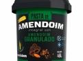 Pasta de Amendoim Integral Mandubim com Amendoim Granulado Sem Açúcar 450g