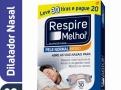 Dilatador Nasal Respire Melhor Pele Normal Médio Leve 30 Pague 20 Tiras