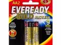 Pilha Eveready Gold AA Alcalina 1,5V 2 Unidades