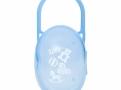 Porta Chupeta Lolly Color Azul com 1 Unidade