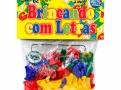 Brinquedo Brincando com Letras Pais & Filhos com 62 Peças