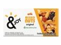 Barra de Cereais &Joy Mixed Nuts Original Caixa com 2 Unidades de 30g cada