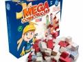 Brinquedo Mega Construções Pais & Filhos com 76 Peças