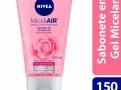 Sabonete em Gel Facial Nivea MicellAIR Água de Rosas 150ml