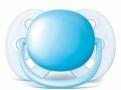 Chupeta Philips Avent Ultra Soft Tamanho 2 de 6 a 18 Meses Azul com 1 Unidade