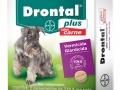 Drontal Plus Carne Vermicida para Cães Uso Veterinário com 2 Comprimidos