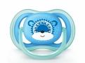 Chupeta Philips Avent Ultra Air Tamanho 2 de 6 a 18 Meses Azul Decorada com 1 Unidade