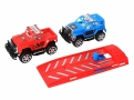 Lança Carros Etitoys Spider Man Marvel com 2 Carrinhos Cores Sortidas