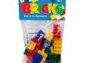 Brinquedo Bricks Blocos de Montagem Pais & Filhos com 29 Peças